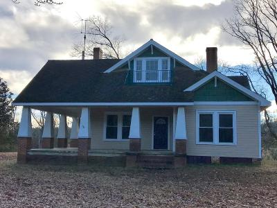 Greenwood Single Family Home For Sale: 4320 Old Laurens Highway