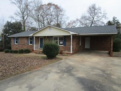 Greenwood SC Single Family Home For Sale: $65,000