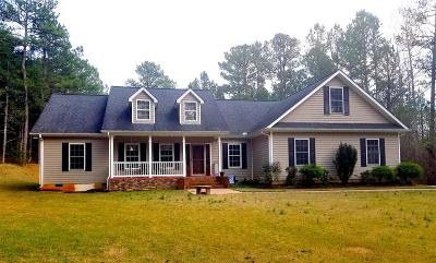Hodges Single Family Home For Sale: 730 Gary Rd