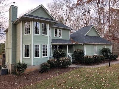 Greenwood County Single Family Home For Sale: 110 Carriage Court