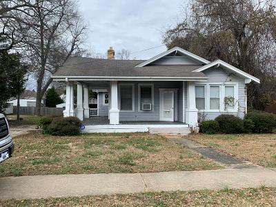 Greenwood County Single Family Home For Sale: 103 E Durst