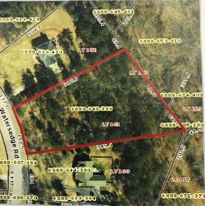 Greenwood Residential Lots & Land For Sale: 112 Watersedge Road