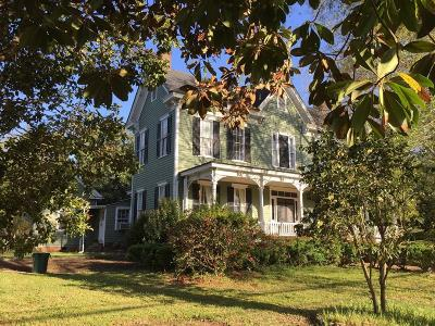 Abbeville Single Family Home For Sale: 105 Greenville Street