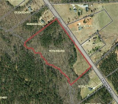 Greenwood Residential Lots & Land For Sale: Chipley Rod