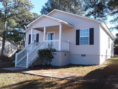Greenwood County Single Family Home For Sale: 605 Wright Ave