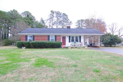 Hodges Single Family Home For Sale: 307 W Keels Rd