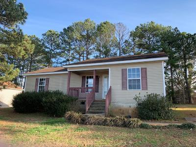 Greenwood SC Single Family Home For Sale: $43,000