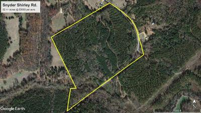 Hodges Residential Lots & Land For Sale: 1025 Shirley Rd.