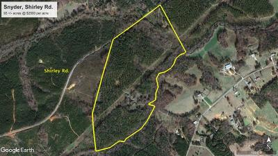 Greenwood County Residential Lots & Land For Sale: 1025a Shirley Rd