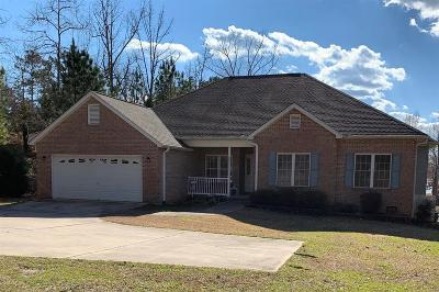 Cross Hill Single Family Home For Sale: 1659 Summerset Bay Drive