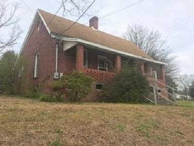 Greenwood SC Single Family Home For Sale: $95,900