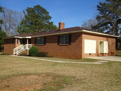 Greenwood SC Single Family Home For Sale: $134,900