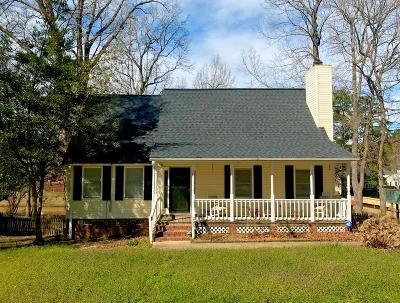 Greenwood SC Single Family Home For Sale: $155,500