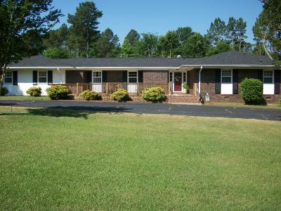 Greenwood County Single Family Home For Sale: 6514 Hwy 178 S