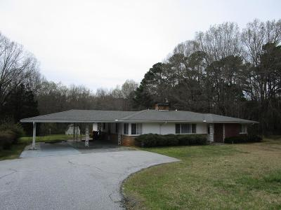 Abbeville Single Family Home For Sale: 1503 Greenville Street