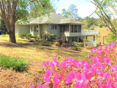 Greenwood County Single Family Home For Sale: 125 Watersedge Rd