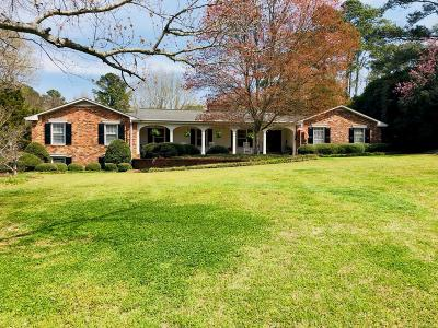 Greenwood Single Family Home For Sale: 163 Rutledge Road