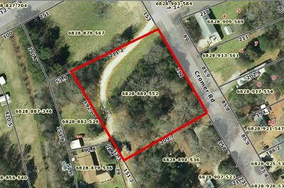 Greenwood County Residential Lots & Land For Sale: 204 Cromer