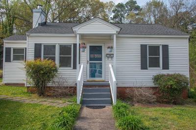 Abbeville Single Family Home For Sale: 115 Calhoun Street