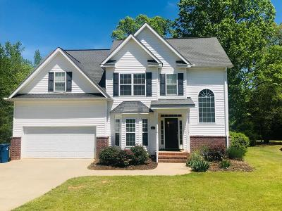 Greenwood Single Family Home For Sale: 107 Culbertson Ct