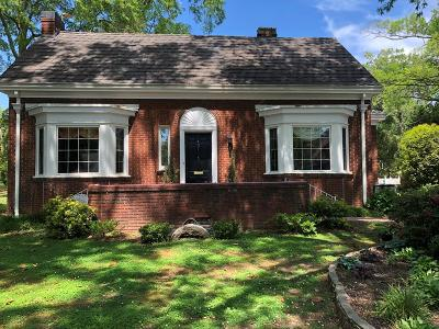Greenwood Single Family Home For Sale: 407 Jennings Ave.