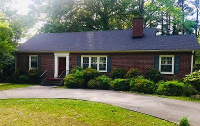 Greenwood SC Single Family Home For Sale: $139,900