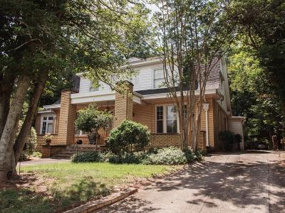 Abbeville Single Family Home For Sale: 107 Greenville Street