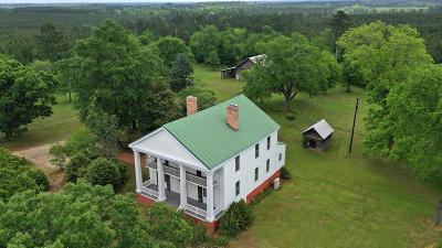Greenwood County Single Family Home For Sale: 503 Barksdale Ferry Rd