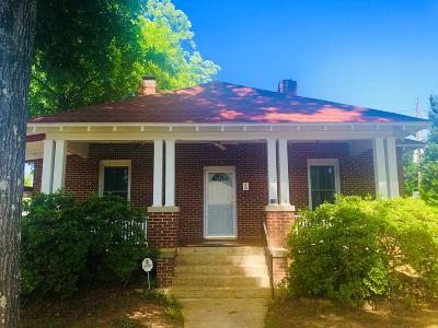 Greenwood County Single Family Home For Sale: 125 Lowell