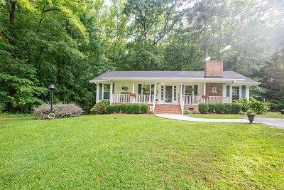 Greenwood Single Family Home For Sale: 113 Cypress Hollow