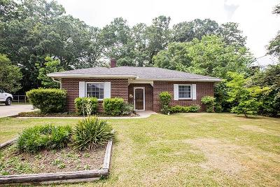 Greenwood SC Single Family Home For Sale: $77,000