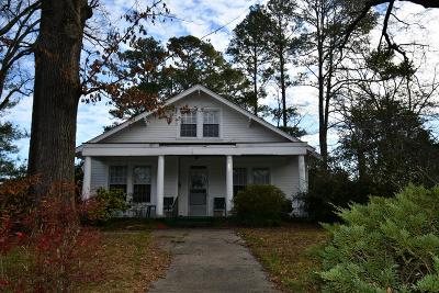 Greenwood SC Single Family Home For Sale: $115,900