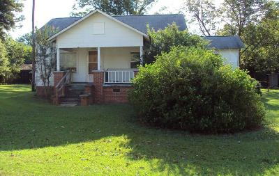 Greenwood Single Family Home For Sale: 1620 Mathis Road