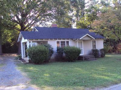 Greenwood Single Family Home For Sale: 1630 Mathis Road