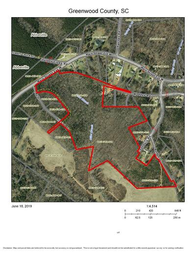 Ware Shoals Residential Lots & Land For Sale: W Main Street Ext.