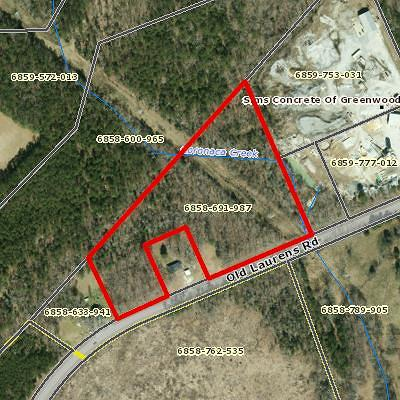 Greenwood County Residential Lots & Land For Sale: 3605 Old Laurens Rd.