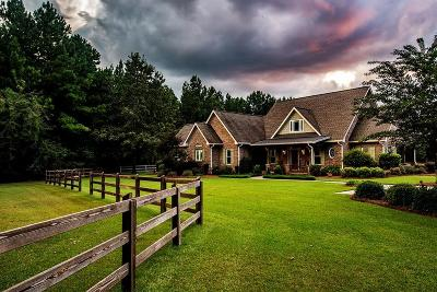 Greenwood County Single Family Home For Sale: 5200 Hwy 246 S