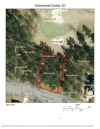 Greenwood County Residential Lots & Land For Sale: 128 Gunnery Court W