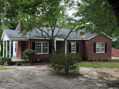 Greenwood SC Single Family Home For Sale: $80,000