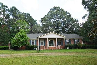 Abbeville Single Family Home For Sale: 234 Old Greenwood Hwy