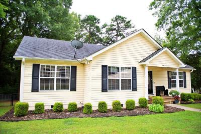 Greenwood Single Family Home For Sale: 1313 Old Abbeville Hwy