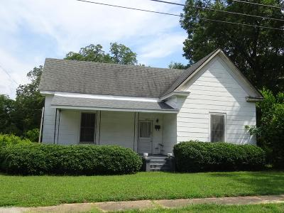 Abbeville Single Family Home For Sale: 307 Ferry Street