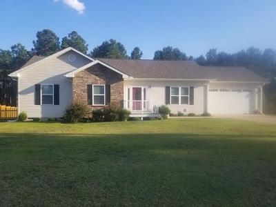 Hodges Single Family Home For Sale: 129 Pine Dr