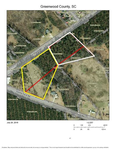 Greenwood Residential Lots & Land For Sale: Siloam Ch & County Farm