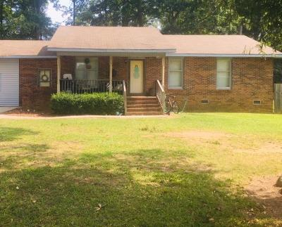 Greenwood Single Family Home For Sale: 210 Augusta Cir
