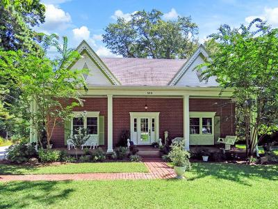 Cross Hill Single Family Home For Sale: 323 N Main St