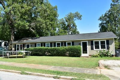 Abbeville Single Family Home For Sale: 307 Wardlaw Street