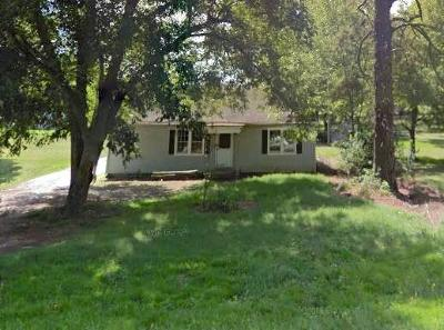 Greenwood Single Family Home For Sale: 1807 McCormick Hwy