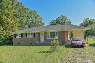 Greenwood SC Single Family Home For Sale: $89,000