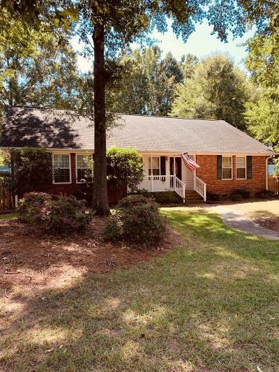 Greenwood SC Single Family Home For Sale: $199,900